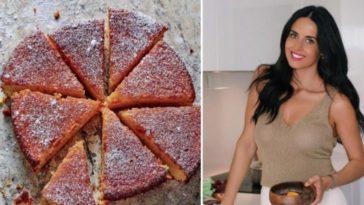 O bolo de laranja saudável de Catarina Gouveia é um sucesso