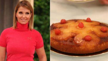 A receita do bolo de ananás de Cristina Ferreira que conquistou o público