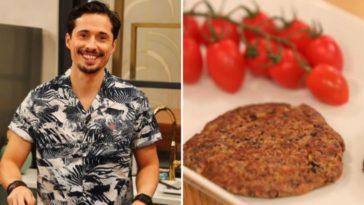 João Paulo Sousa ensina a fazer Hambúrgueres vegetarianos