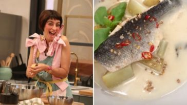 Estufado de Peixe, a receita de Joana Barrios para surpreender a família