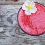 Receita de sumo de fruta natural
