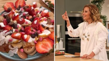 A receita de mini panquecas de cereais que surpreendeu Cristina Ferreira