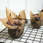 Receita de Muffins de chocolate S.O.S em 15 minutos