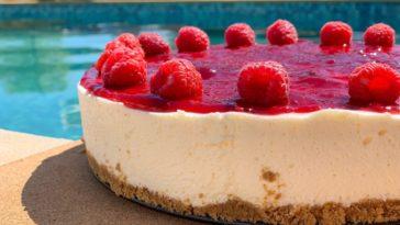 Receita de Cheesecake irresistível