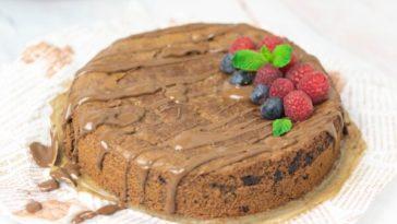 Receita de Bolo de Amêndoa e Chocolate sem glúten