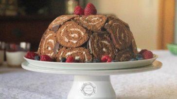 Receita de Charlotte de Chocolate irresistível