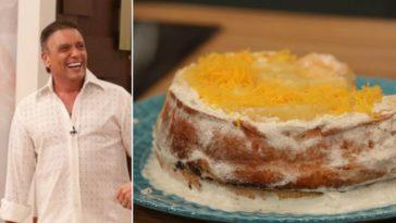 Joaquim Monchique ensina a fazer bolo de festa, uma receita da mãe