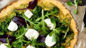 Como tornar uma pizza mais saudável?