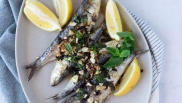 Receita de Sardinhas no forno à Siciliana