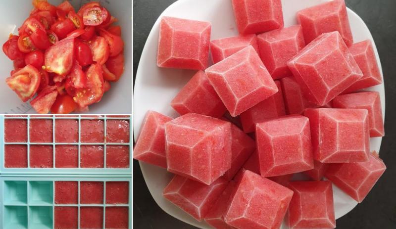 Conservar tomate para o ano inteiro