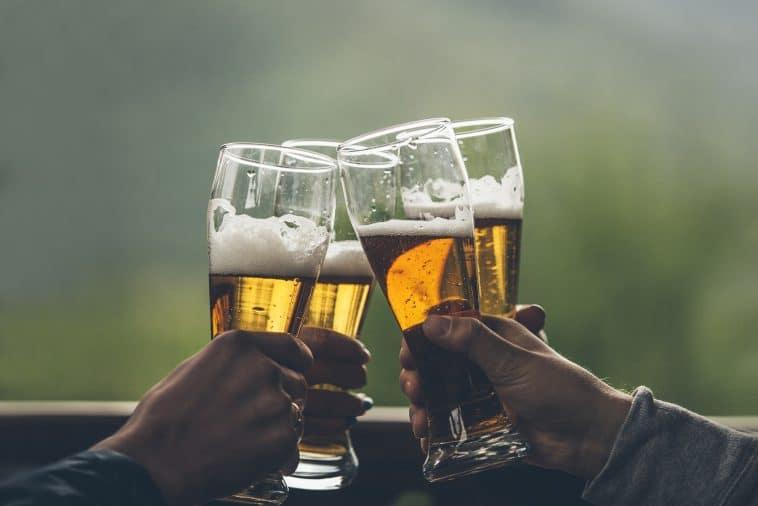 A cerveja engorda