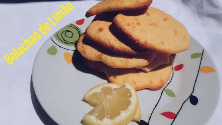 Receita de Bolachas de Limão super saborosas