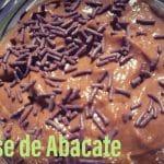 Receita de Mousse de Abacate muito deliciosa