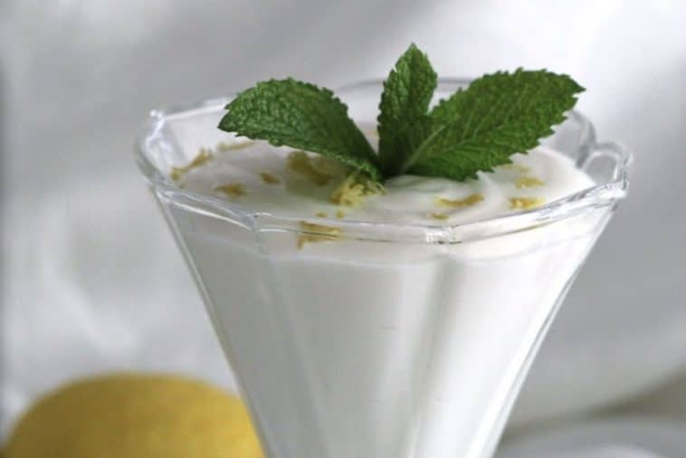 Receita da Mousse de Limão saborosa