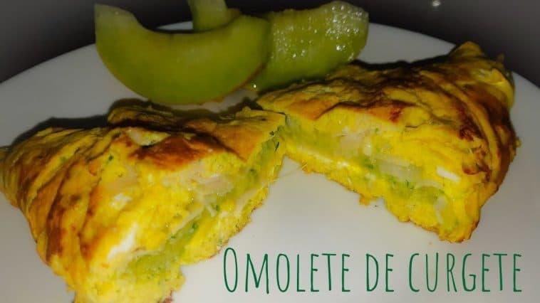 Receita da Omelete de Curgete biológica