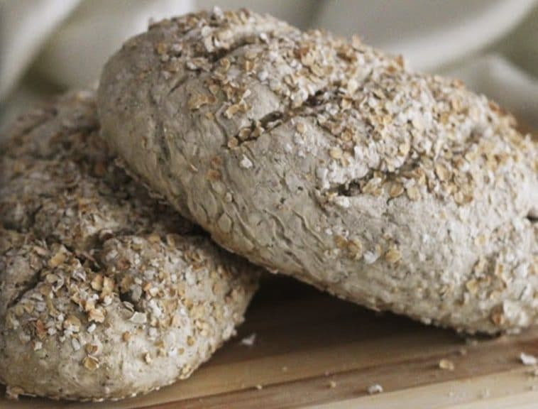 Receita do pão de cereais mais fácil de fazer