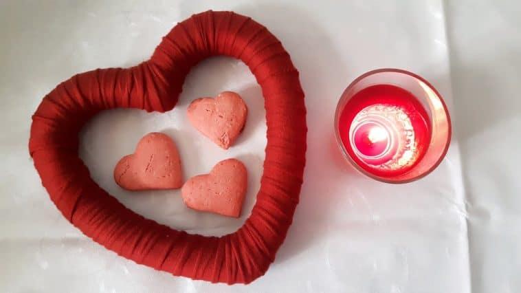 Receita das Bolachas para celebrar o amor