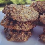 Receita das Cookies de Aveia e Banana ótimas para crianças