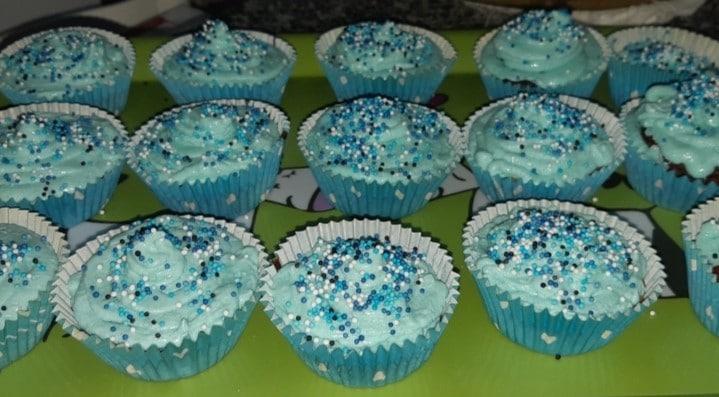 Receita dos Cupcakes com Creme de Manteiga para fazer com as crianças