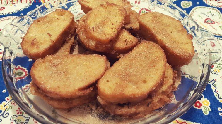 Receita das Rabanadas / Fatias Douradas deliciosas