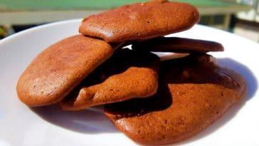 Receita das Bolachas de Chocolate com Nozes mega simples 2