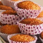 Receita dos Queques de Amendoim fofos e rápidos