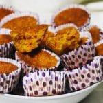 Receita dos Queques de Cenoura fofos e saborosos