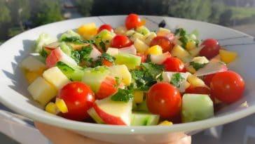 Receita da Salada Tropical fresca e saborosa