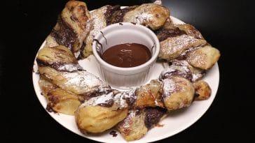 Receita dos Torcidos de Chocolate irresistíveis