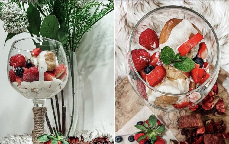 Receita do Trifle de Choux com Frutos Vermelhos