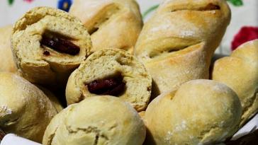 Receita de Pão com Chouriço caseiro