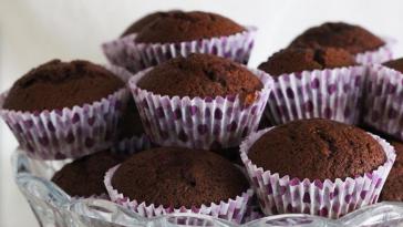 Receita dos Queques de Chocolate mega deliciosos