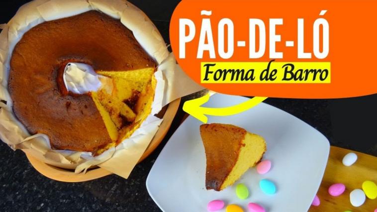 Receita do Pão de Ló Tradicional de Portugal