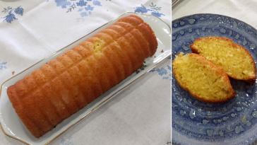 Receita do Bolo de Limão tipo Pound Cake